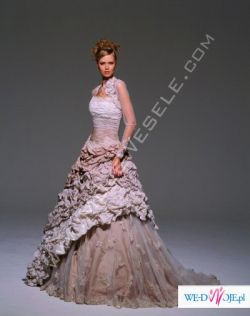 wyjątkowa suknia ślubna Demetrios