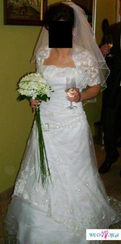 Wyjątkowa suknia ślubna DEMETRIOS model GR 132