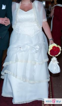 wyjątkowa suknia ślubna dla wyjatkowej 44-48