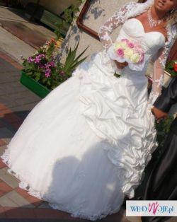 Wyjątkowa Suknia Ślubna Dla Wyjatkowej Kobietki+GRATISY