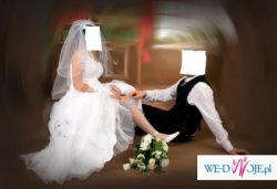 Wyjątkowa suknia ślubna dla wyjątkowej kobiety