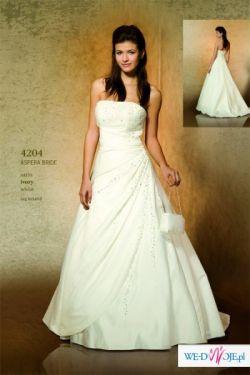 Wyjatkowa suknia slubna dla wyjatkowej Panny Mlodej