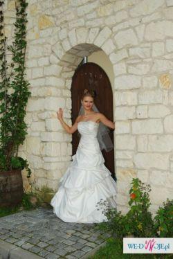 Wyjątkowa Suknia Ślubna + dodatki