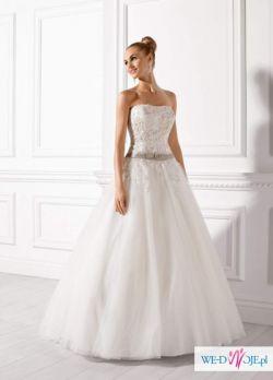 Wyjątkowa suknia ślubna elizabeth swarovski r. 38 model 2632
