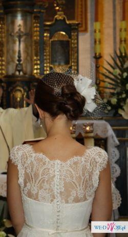 Wyjątkowa suknia ślubna firmy NABLA