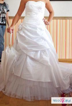 Wyjątkowa suknia ślubna + GRATIS!!!