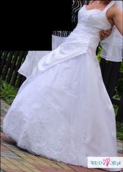 wyjątkowa suknia ślubna + gratis
