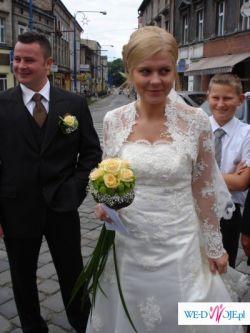 Wyjątkowa SUKNIA ślubna jak LA SPOSA 36/38