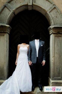 Wyjątkowa suknia ślubna Lisa Ferrera DEMETRIOS model 3154