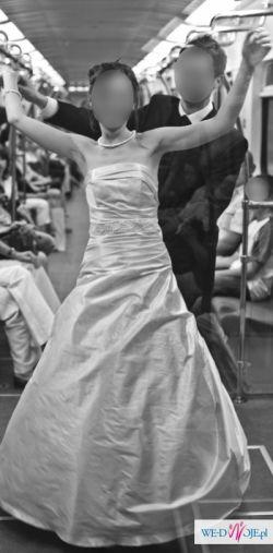 Wyjątkowa suknia ślubna Maggio Ramatti, model Casablanca