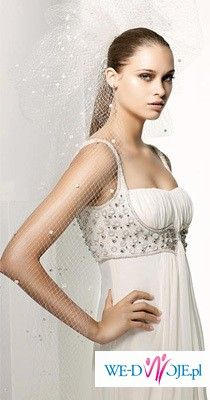 wyjątkowa suknia slubna MANUEL MOTA, model SAMAN
