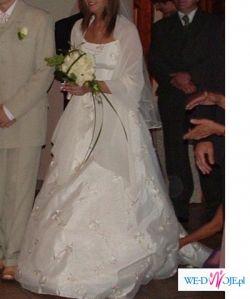 Wyjątkowa suknia ślubna Margarett 36/38 400zł