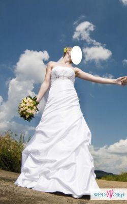 Wyjątkowa Suknia Ślubna r.36 !!!