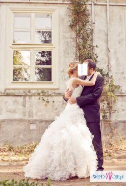 WYJĄTKOWA suknia ślubna !!! rozm 36