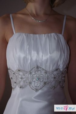 Wyjątkowa suknia ślubna rozm. 36-38