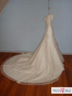 Wyjątkowa suknia ślubna rozm. 38