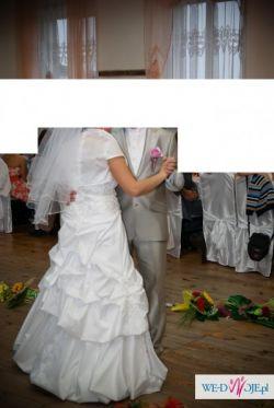 Wyjątkowa Suknia Ślubna rozmiar 40