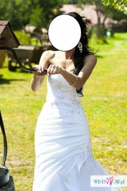 Wyjątkowa suknia ślubna-rybka lub syrena!!!