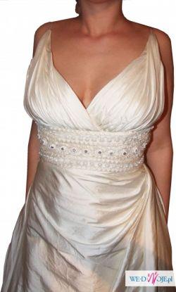Wyjątkowa suknia slubna -SADRA-MANUEL MOTA