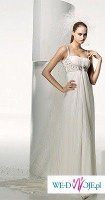 Wyjątkowa suknia slubna SAMAN, z kolekcji MANUEL MOTA
