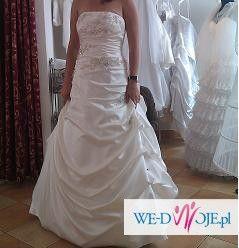 Wyjątkowa suknia ślubna -szczęśliwej mężatki:))