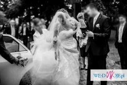 Wyjątkowa suknia ślubna TRIANA+gratisy
