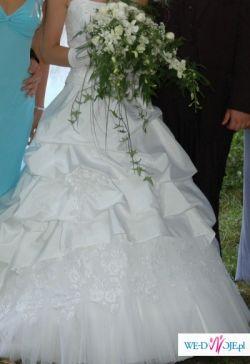 wyjątkowa suknia ślubna w TWOJEJ CENIE!!!!!!! rozm 36-38
