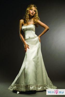 Wyjatkowa Suknia ŚLUBNA z Londynu projektanta Henry Michelle Roth