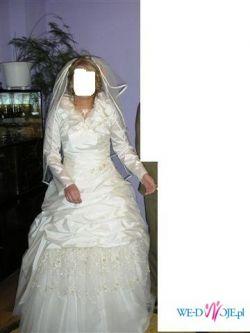 wyjątkowa suknia ślubna za niewielkie pieniądze