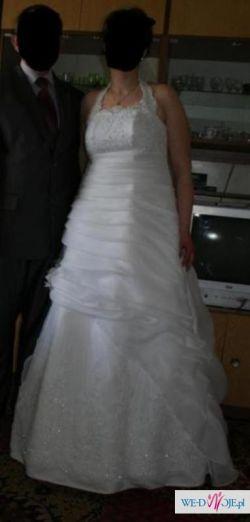 Wyjątkowa suknia śubna welon GRATIS!!!