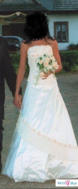 Wyjątkowa włoska  suknia ślubna AGNES
