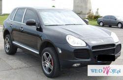 Wynajem samochodu do ślubu-Porsche Cayenne