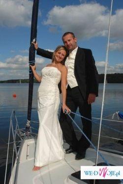 WYPOŻYCZĘ Cudną suknię WHITE ONE 168- kolor: jasne ecru - Tanio!!!