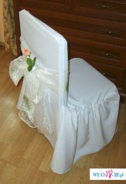 Wypożyczę stylowe pokrowce na krzesła - ślub, wesele
