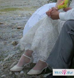 WYPOŻYCZĘ suknię ślubną