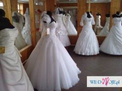 Wyprzedaż Nowych Sukni Ślubnych po likwidacji salonu. Suknia Za 300zł