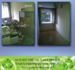 wywóz starych mebli Wrocław,cena,opróżnianie mieszkań,piwnic,cennik,utylizacja