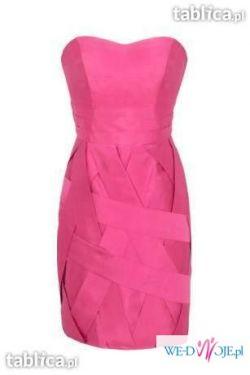 Yoshe sukienka z najnowszej kolekcji różowa 38/40