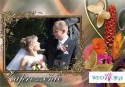 Zaproszenia Ślubne ze zdjęciem
