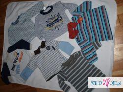 zestaw bluzeczek dla chłopczyka znanych firm