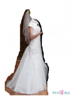 """Zjawiskowa i subtelna suknia  ślubna """"Daria"""""""