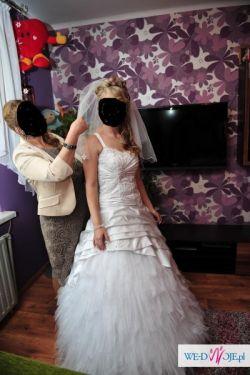 Zjawiskowa sukienka ślubna