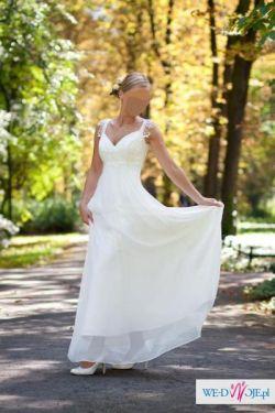 Zjawiskowa suknia 34-36