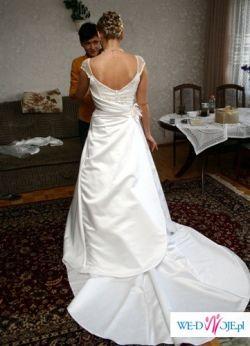 zjawiskowa suknia śluba- zależy mi na szybkiej sprzedaży