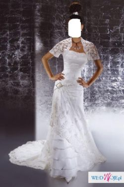 Zjawiskowa suknia slubna !!!!!