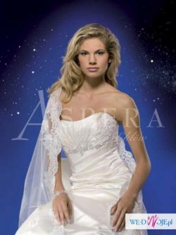 Zjawiskowa suknia ślubna Aspera Bride  4448 Light Gold Kolekcja 2010