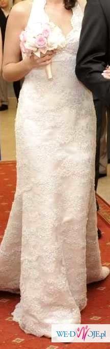 ZJAWISKOWA suknia ślubna JUSTIN ALEXANDER 36 38 S M