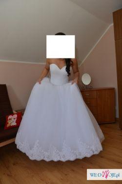 Zjawiskowa suknia ślubna Księżniczka!