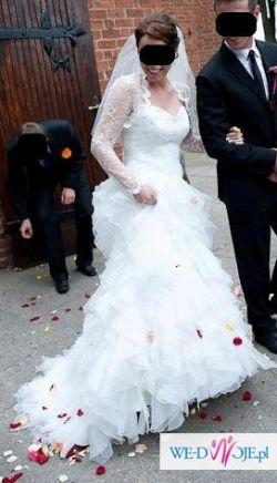 Zjawiskowa suknia ślubna Maggio Ramatti Bugatti