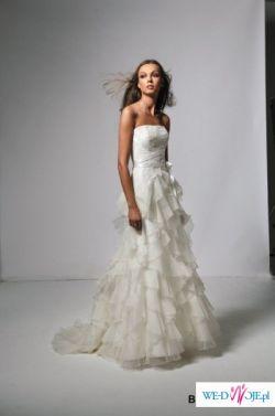 Zjawiskowa suknia ślubna, model Brindille z salonu Cymbeline